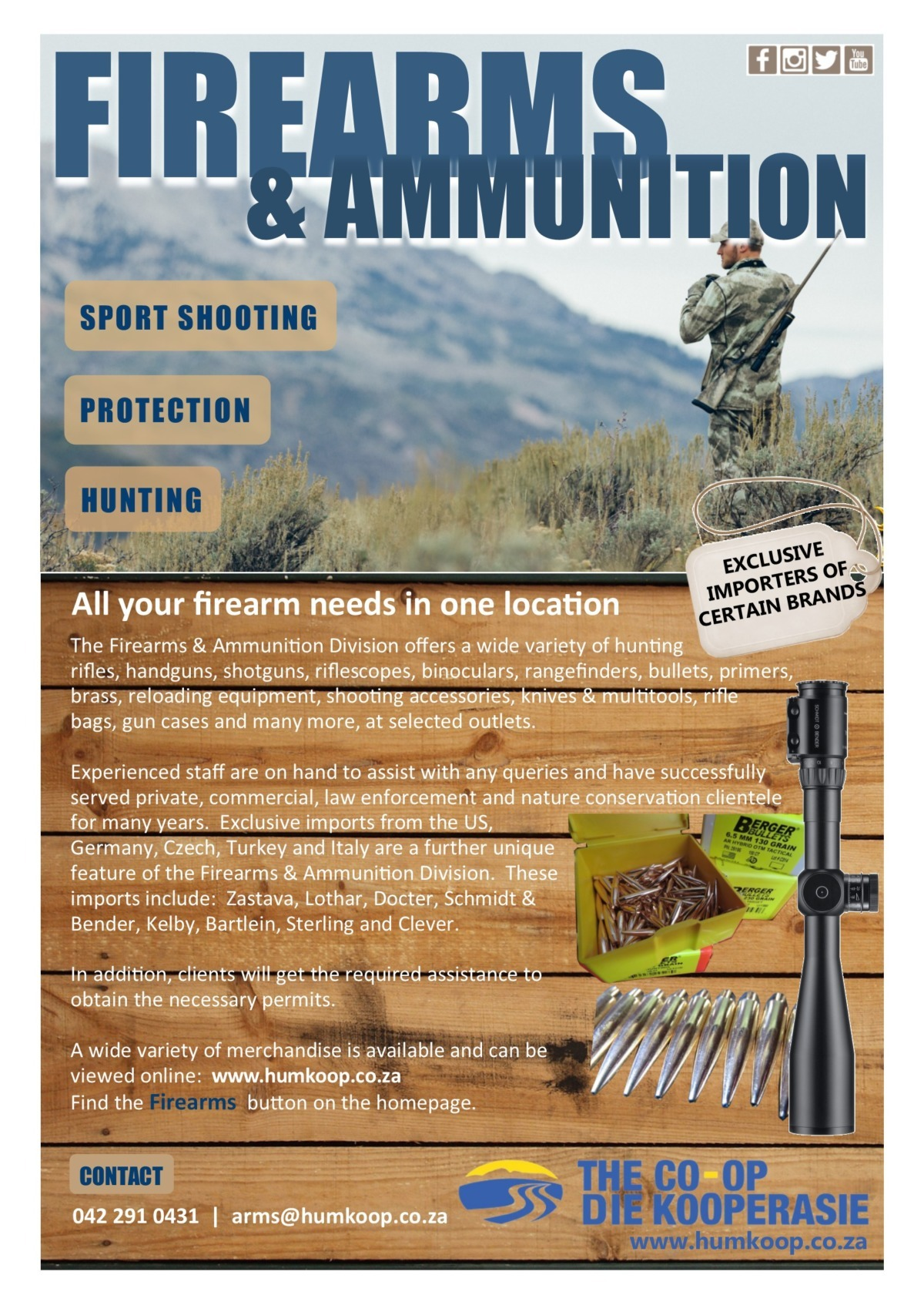 Firearms & Ammunition